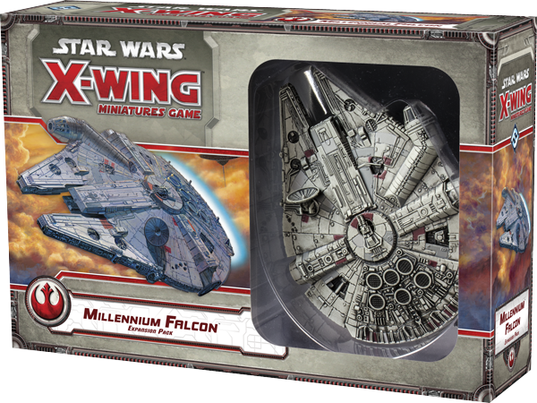 Star Wars X-Wing - Second Edition - Millennium Falcon Expansion Pack