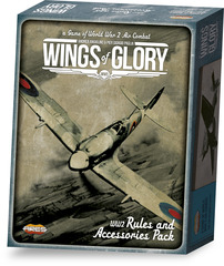 Wings of Glory: WW2 (Rules and Accessories Pack)