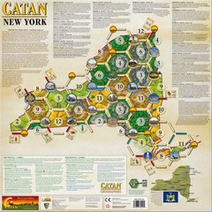 Catan Geographies: New York (Special Order Item)