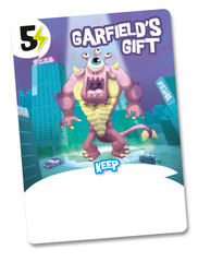 King of Tokyo: Garfield's Gift Promo Card