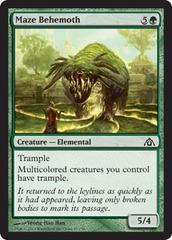 Maze Behemoth - Foil