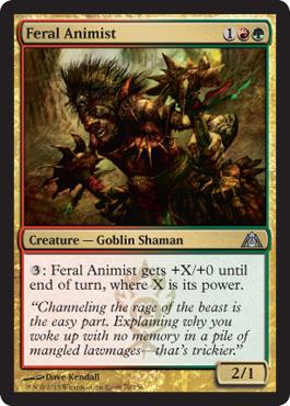 Feral Animist - Foil
