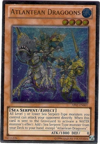Atlantean Dragoons - AP02-EN001 - Ultimate Rare - Unlimited