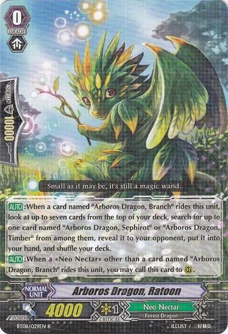 Arboros Dragon, Ratoon - BT08/029EN - R