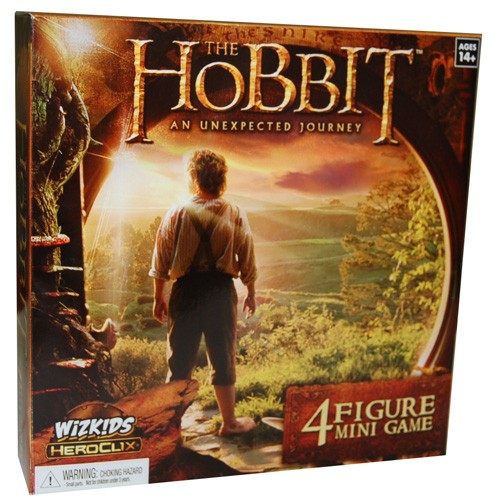 The Hobbit: An Unexpected Journey - Journey to the Lonely Mountain Board Game