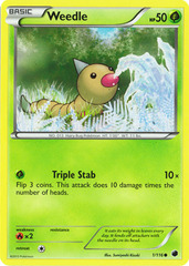 Weedle - 1/116 - Common
