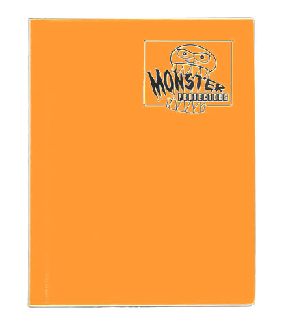 Monster Protectors 4-Pocket Binder - Matte Orange