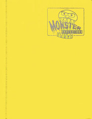 4-Pocket Monster Binder - Matte Yellow