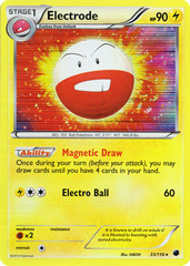 Electrode - 33/116 - Holo Rare on Channel Fireball