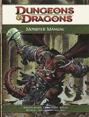 4th Edition - Monster Manual (Good)