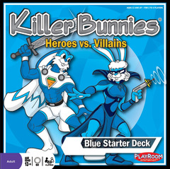 Killer Bunnies: Heroes vs. Villains - Blue Starter Deck