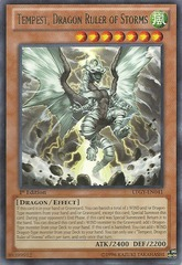 Tempest, Dragon Ruler of Storms - LTGY-EN041 - Rare - 1st