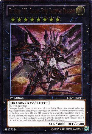 Number 107: Galaxy-Eyes Tachyon Dragon - LTGY-EN044 - Ultimate Rare - 1st Edition