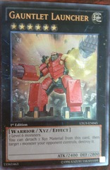 Gauntlet Launcher - LTGY-EN045 - Ultra Rare - 1st Edition