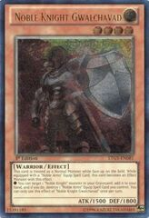 Noble Knight Gwalchavad - LTGY-EN081 - Ultimate Rare - 1st Edition