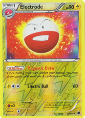 Electrode - 33/116 - Holo Rare - Reverse Holo on Channel Fireball