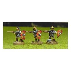 Legionary 3. Attacking with pilum (150903-0112)