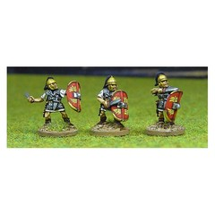Legionary 4. Attacking with gladius (150904-0113)