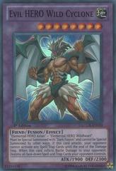 Evil HERO Wild Cyclone - LCGX-EN070 - Super Rare - Unlimited Edition