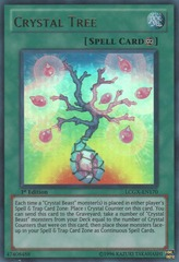 Crystal Tree - LCGX-EN170 - Ultra Rare - Unlimited Edition