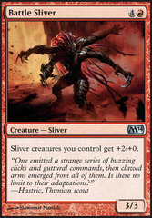 Battle Sliver - Foil (M14)