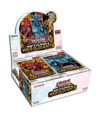 Yu-Gi-Oh Battle Pack 2: War of the Giants 1st Edition Booster Box