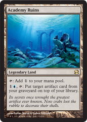 Academy Ruins - Foil on Channel Fireball