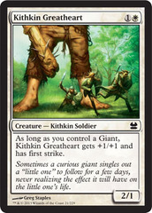 Kithkin Greatheart - Foil