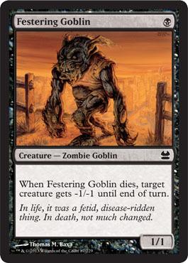Festering Goblin - Foil