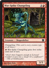 War-Spike Changeling - Foil