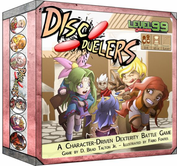Disc Duelers - Board Games » Publisher L-M-N » Level 99