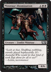 Minotaur Abomination  - Foil