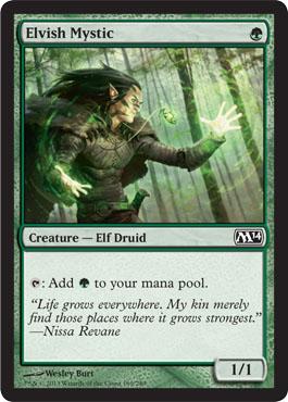 Elvish Mystic - Foil