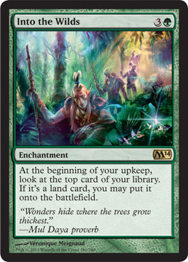 Into the Wilds - Foil