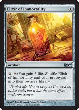 Elixir of Immortality - Foil