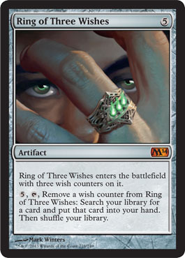 Ring of Three Wishes - Foil