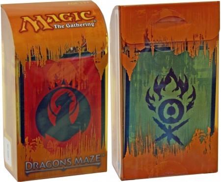 Dragons Maze Prerelease Kit - Izzet/Gruul