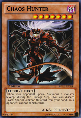 Chaos Hunter - BP02-EN095 - Rare - 1st