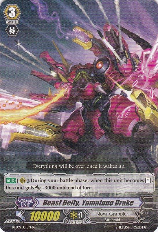 Beast Deity, Yamatano Drake - BT09/031EN - R