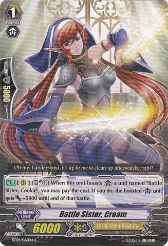Battle Sister, Cream - BT09/066EN - C