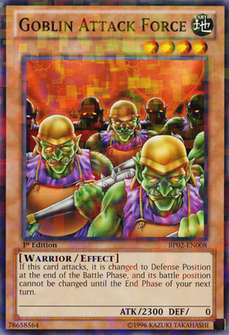 Goblin Attack Force - BP02-EN008 - Mosaic Rare - 1st