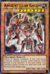 Ancient Gear Golem - BP02-EN035 - Mosaic Rare - 1st on Channel Fireball