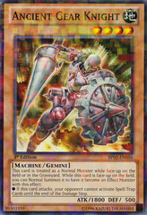 Ancient Gear Knight - BP02-EN056 - Mosaic Rare - 1st on Channel Fireball