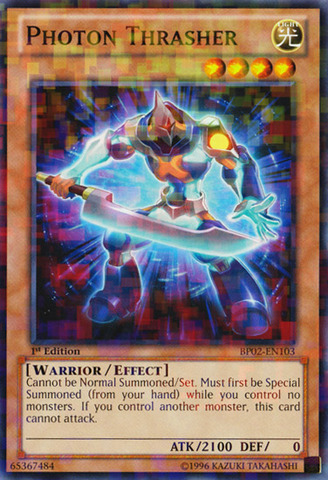 751da51104d Photon Thrasher - BP02-EN103 - Mosaic Rare - 1st - Trading Card ...