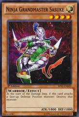 Ninja Grandmaster Sasuke - BP02-EN029 - Common - 1st