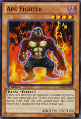 Ape Fighter - BP02-EN093 - Common - 1st on Channel Fireball