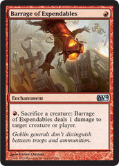 Barrage of Expendables - Foil on Channel Fireball
