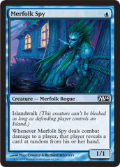 Merfolk Spy - Foil