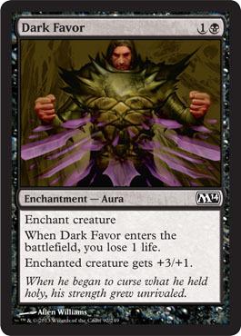 Dark Favor - Foil