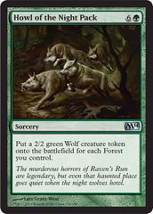 Howl of the Night Pack - Foil